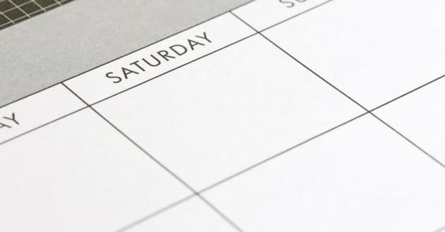 3. Their Sabbath is on Saturday