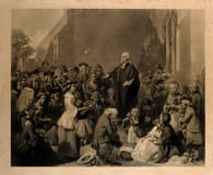 6. The Methodist denomination grew from four people to over a hundred thousand in Wesley's lifetime.