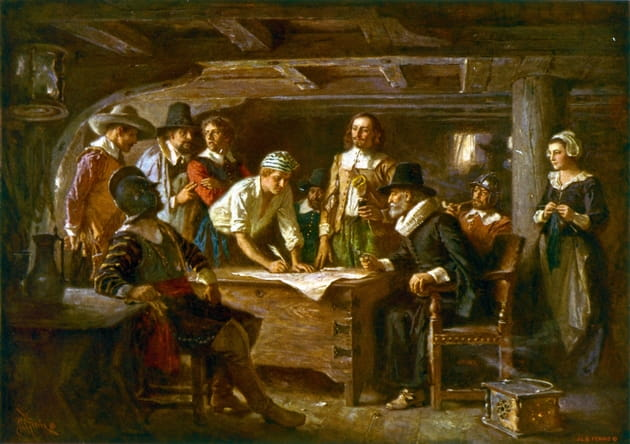 The Magnificent Mayflower Compact
