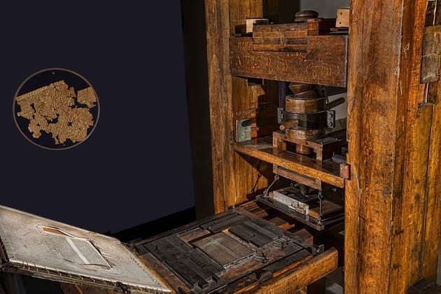 2. Gutenberg's Printing Press helped enable the Protestant Reformation.