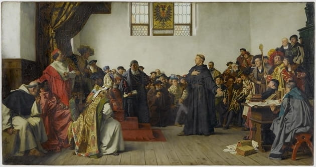 6. Roman Emperor Charles V declared Luther a notorious heretic.