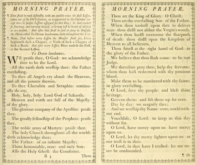 "5. The Book of Common Prayer contains ""instructions"" for public worship."