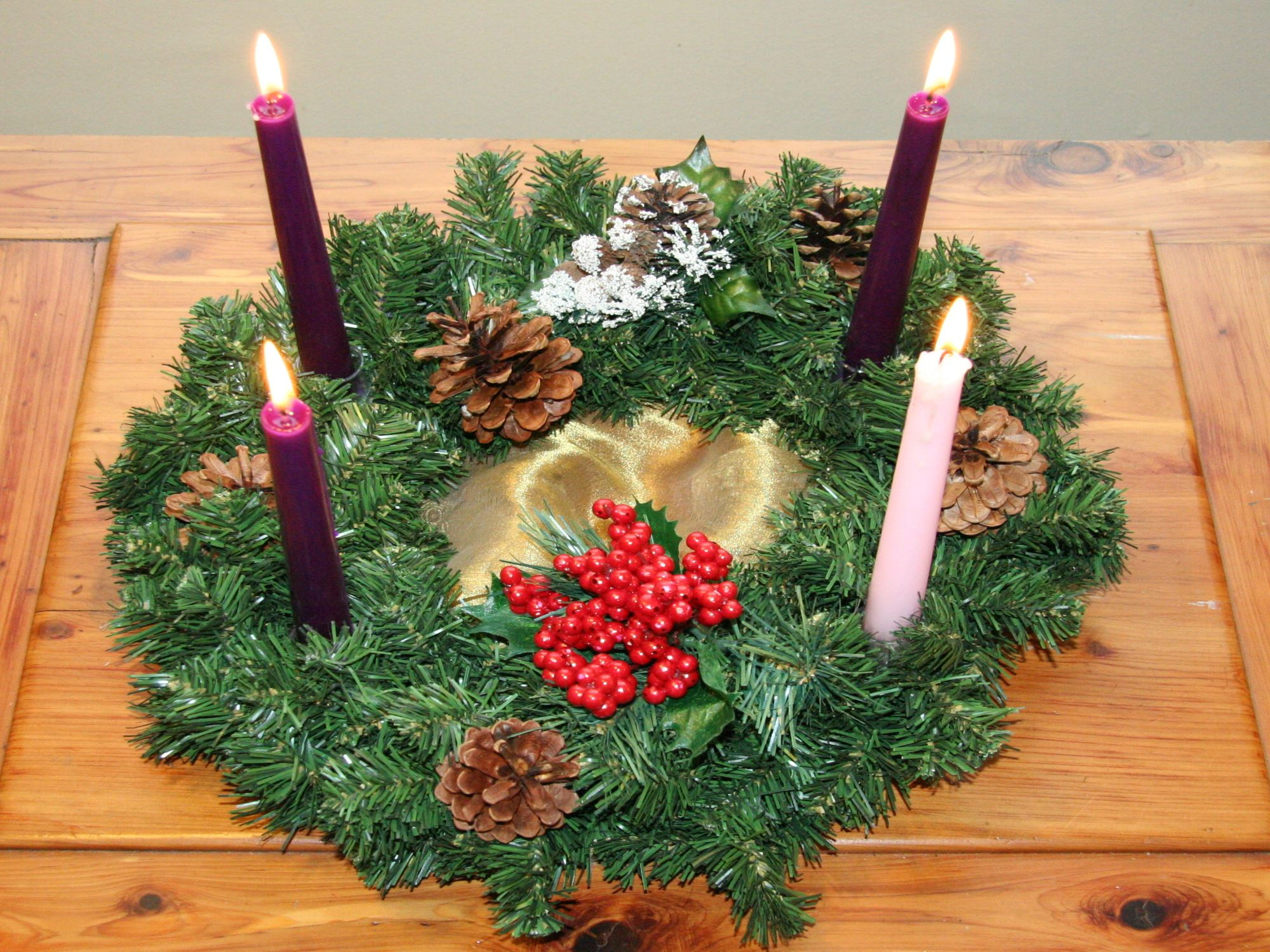 advent candles, advent wreath, advent history
