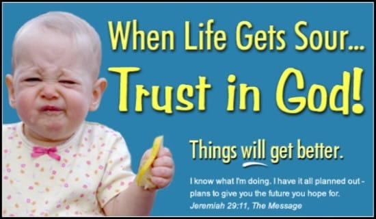 Trust In God! ecard, online card