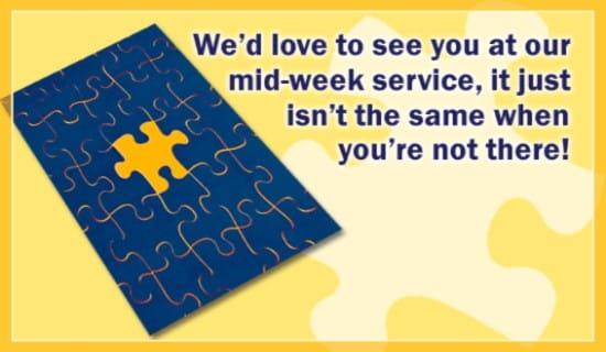 Puzzle ecard, online card