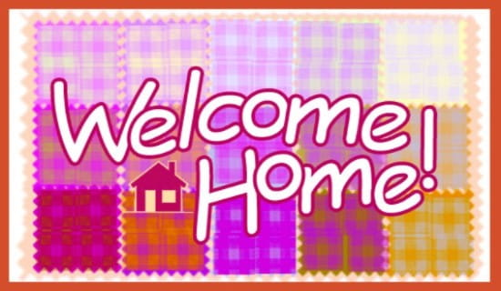 Welcome Home! ecard, online card