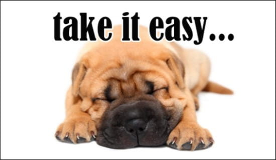 Take It Easy ecard, online card
