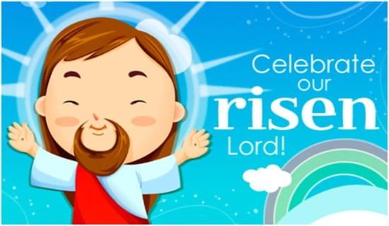 Risen Lord ecard, online card