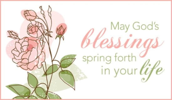 Spring Forth ecard, online card
