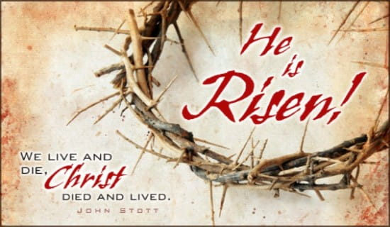 He is Risen! ecard, online card