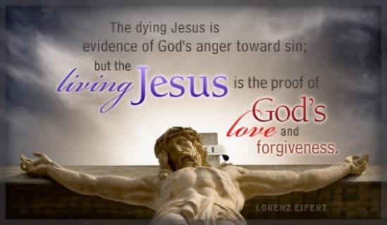 Living Jesus ecard, online card
