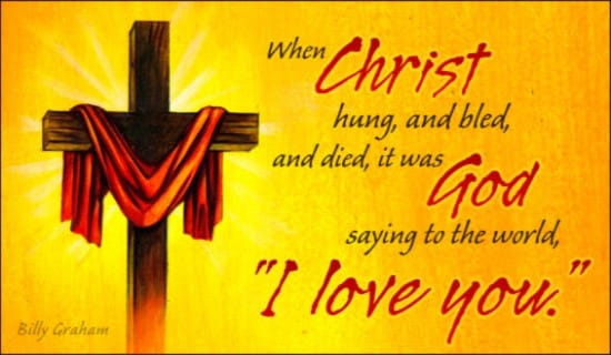 Christ Hung ecard, online card