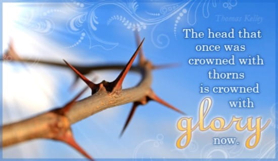 Crowned with Glory ecard, online card