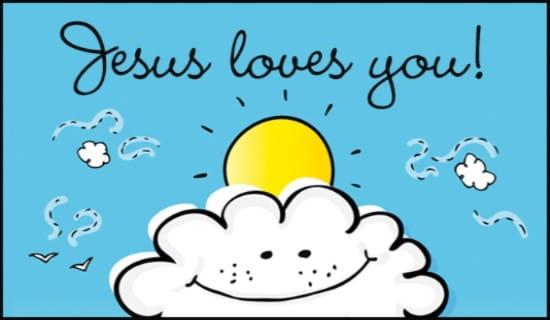 Jesus Loves You ecard, online card