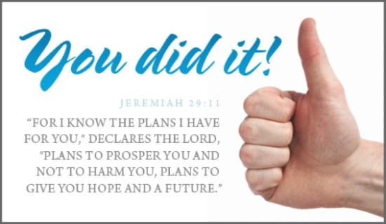 You Did It! ecard, online card
