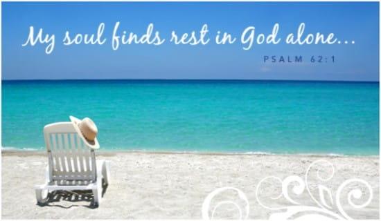 Soul Finds Rest ecard, online card