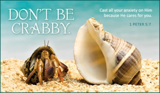 Don't Be Crabby ecard, online card