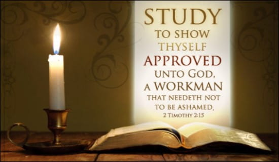 2 Timothy 2:15 ecard, online card