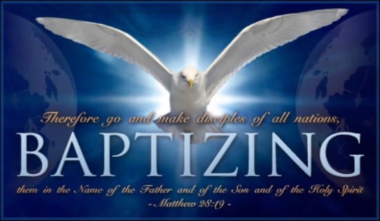 Matthew 28:19 ecard, online card