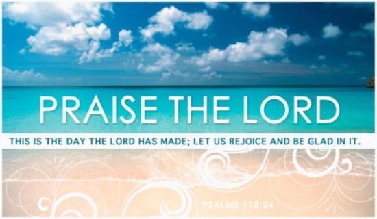Praise The Lord ecard, online card