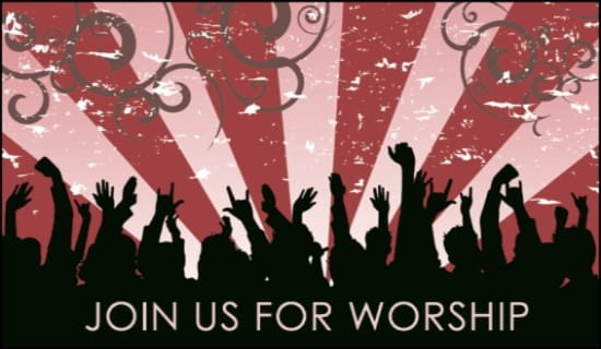 Free Worship Invite eCard eMail Free Personalized Invitations