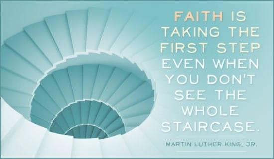 Martin Luther King, Jr. ecard, online card