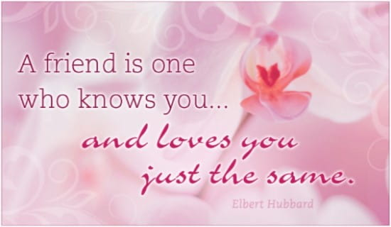 Friend Love ecard, online card