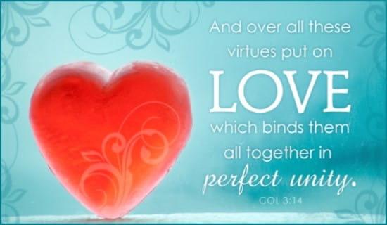 Put on Love ecard, online card