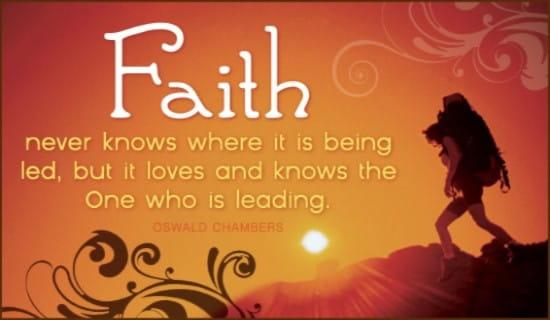 Faith ecard, online card