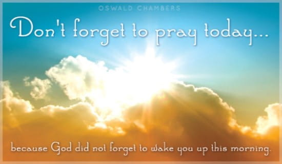 Pray Today ecard, online card