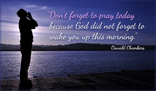 Pray Today ecard, online card