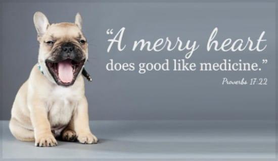 Merry Heart ecard, online card
