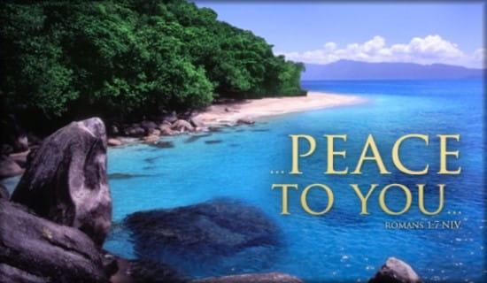 Peace to You ecard, online card