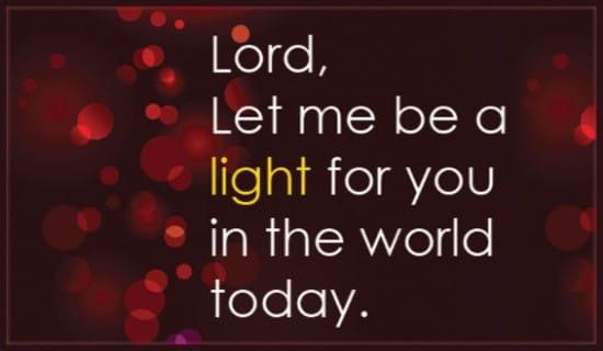 Light in the World ecard, online card