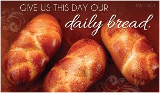 Daily Bread ecard, online card