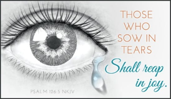 Joy - Psalm 126:5 NKJV ecard, online card