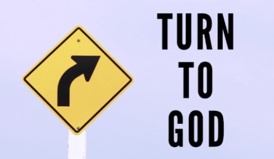 Turn to God ecard, online card