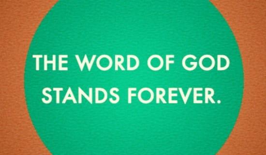 Word of God ecard, online card