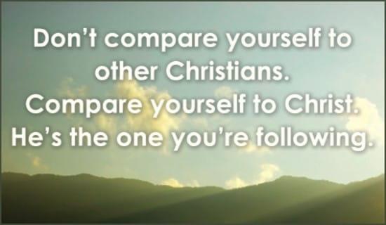 Follow Christ ecard, online card