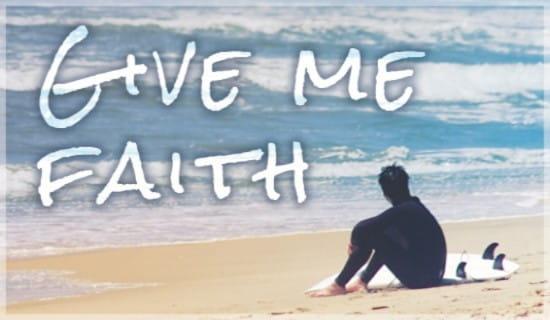 Give Me Faith ecard, online card