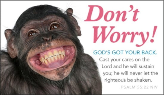 Don't Worry ecard, online card