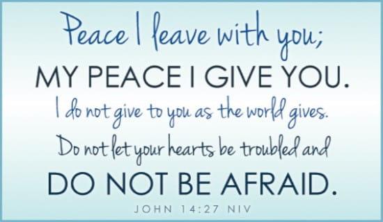 John 14:27 NIV ecard, online card