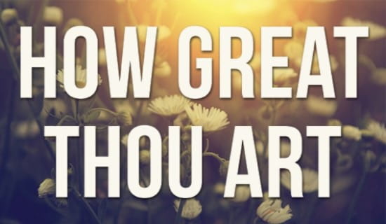 How Great Thou Art ecard, online card