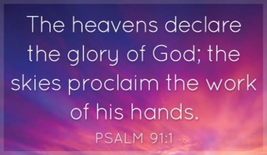 Psalm 91:1 ecard, online card