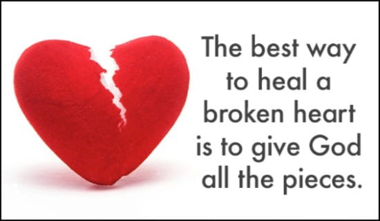 Broken Heart ecard, online card