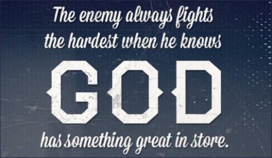 God's Plans ecard, online card