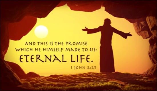 Eternal Life ecard, online card