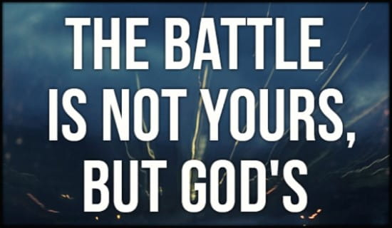 God's Battle ecard, online card