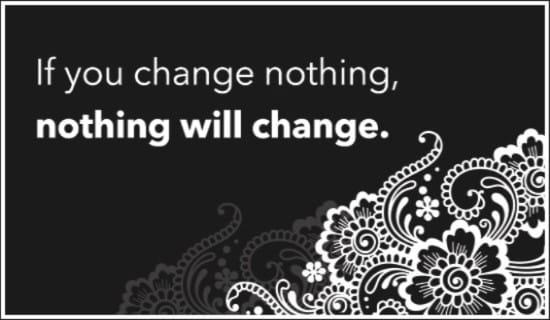 Change ecard, online card
