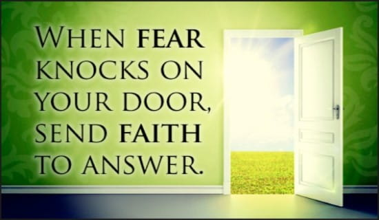 Fear and Faith ecard, online card